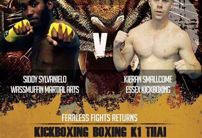 Siddy Sylvanielo fighting on FEARLESS 15th October.