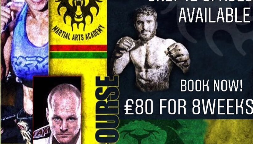 8 WEEKS MMA COURSE STARTS ON 1st October!!!